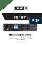 POD HD Pro Advanced Guide v2.0 - French ( Rev A )