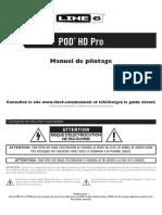 POD HD Pro Quick Start Guide - French ( Rev C )