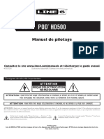 POD HD500 Quick Start Guide - French ( Rev C )
