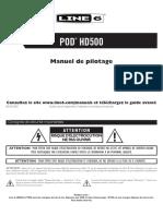 POD HD500 Quick Start Guide - French ( Rev C )