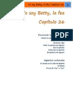 Yo soy Betty, la fea Cap. 26