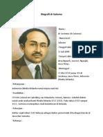 Biografi Dr Sutomo