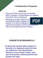 Cap. No. 1 Introduccion Proyectos