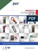 Metravi Catalog 2015-2016
