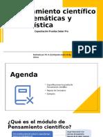 Pensamiento científico – Matemáticas y Estadística.pptx