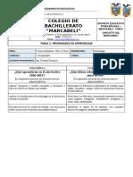 GUIA DE REFUERZO SEMANAL - PLAN DE EMERGENCIA - METROLOGIA 1RO