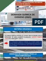 Demanda quimica de oxigeno en microbiologia de agua