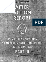 After Action Report SS Mayaguez Part II