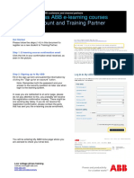 MyABB How to enroll ABB e-learning courses for ABB customers and value providers.pdf