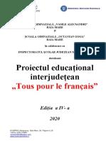 0 Proiect Trophees Des Collegiens 2019 Forma Finala Corectat Sonia