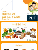 GR01_L01_Healthful and Less Healthful Food Session 2 PowerPoint