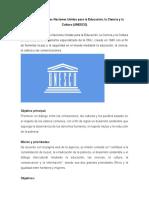 Organización de las Naciones Unidas para la Educación