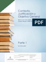 003 Contexto, Justificación y Objetivo General 2020
