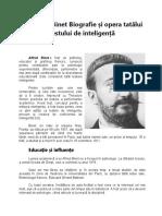 Alfred Binet Biografie și opera tatălui testului de inteligență.docx
