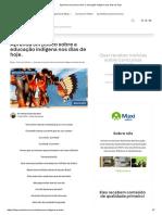 Aprenda um pouco sobre a educação indígena nos dias de hoje.pdf