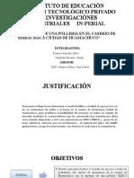 SUSTENTACION TESIS DE UNA POLLERIA