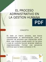Proceso Administrativo RH