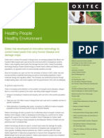 Oxitec Factsheet