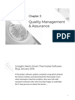 Software Project Management - Chapter 3 Quality Management and Assurance