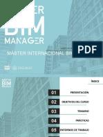 MASTER BIM MANAGER - INTERNACIONAL