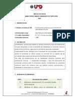PROGRAMA FHD   Evaluaciones Sumativas