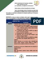 Metodología Temas, Charlas y Dinámicas