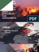 Los incendios forestales