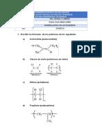 nomenclatura de polimeros