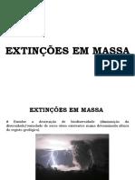 Extinções Em Massa
