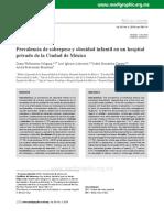 Prevalencia de sobrepeso y obesidad infantil en un hospital.pdf
