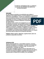 PROCEDIMIENTO PARA EL DIAGNÓSTICO DE LA LOGÍSTICA INTERNA APLICADO EN UNA EMPRESA DE SERVICIOS EXTRAHOTELEROS.docx