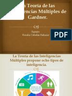 La Teoría de las Inteligencias Múltiples de Gardner (1)