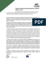 Plataforma Mujeres Documento Violencia