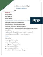 2 research problem