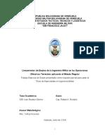 Lineamientos de Empleo de la Ingeniería Militar en las Operaciones Ofensivas Terrestres aplicando el Método Regular