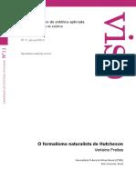 Verlaine Freitas - O formalismo naturalista de Hutcheson