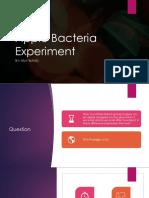apple bacteria experiment  1
