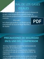 x-LEY GENERAL DE LOS GASES IDEALES