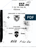 Command Report on the War in Vietnam (to Mid-1968)