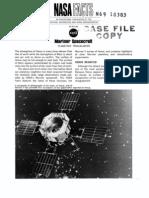 NASA Facts Mariner Spacecraft - Planetary Trailblazers
