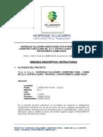 MEMORIA DESCRIPTIVA - HVC TIPO - B  TRABAJADORES