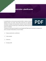 El proceso administrativo -planificación