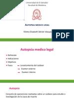Autopsia Medico Legal