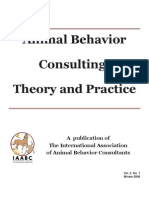 Animal Behavior Consulting