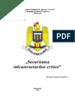 Securitatea infrastructurilor critice