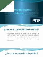 Conductividad eléctrica del agua 2