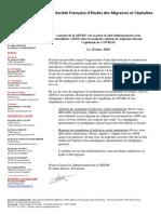 2020-mars-SFEMC-position-AINS-et-corticoides-pour-cephalees-et-COVID19