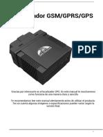 Manual localizador coche TK306