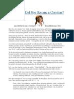 Jane Fonda and Gnosticism