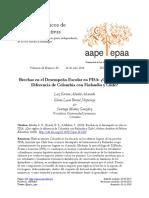 Brechas en el Desempeño Escolar en PISA ¿Qué Explica la Diferencia de Colombia con Finlandia y Chile.pdf